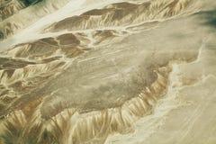 Líneas de Nazca Imágenes de archivo libres de regalías