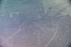Líneas de Nazca - el cóndor Fotografía de archivo libre de regalías