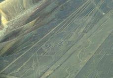 Líneas de Nazca: Espirales Fotografía de archivo