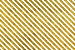 Líneas de oro inclinadas Imagen de archivo