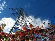 Líneas de potencia 06 Imagenes de archivo