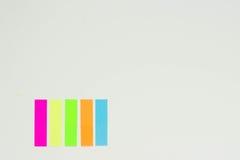 Líneas de señales en el fondo blanco Foto de archivo libre de regalías