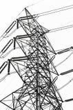 Líneas de transmisión de poder foto de archivo libre de regalías