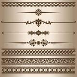 líneas decorativas Fotografía de archivo