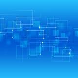 Líneas del extracto de la tecnología del concepto Fotografía de archivo