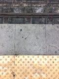Líneas del subterráneo fotos de archivo