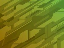 Líneas del techno del fondo Imágenes de archivo libres de regalías