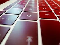 Líneas del teclado Imagen de archivo libre de regalías