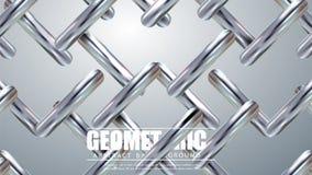 Líneas diagonales de plata modernas Fondo geométrico colorido Composición dinámica de las formas Vector Eps10 stock de ilustración