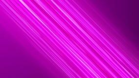 Líneas diagonales rosadas de la velocidad del animado Fondo del movimiento del animado ilustración del vector