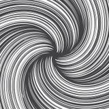 Líneas dibujadas mano textura del giro del extracto del vector Fotos de archivo