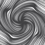 Líneas dibujadas mano textura del giro del extracto del vector Imagen de archivo