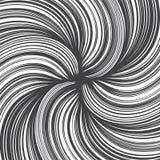 Líneas dibujadas mano textura del giro del extracto del vector Imagen de archivo libre de regalías