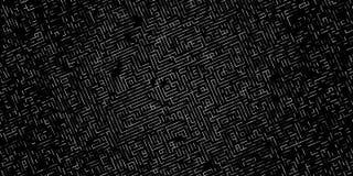 Líneas digitales abstractas fondo Vector del fondo de la tecnología Imágenes de archivo libres de regalías