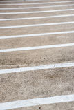 Líneas en el pavimento Imagenes de archivo