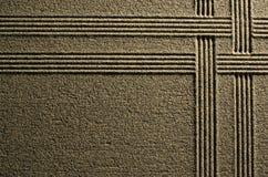 Líneas en la arena Imagenes de archivo