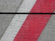Líneas en la plataforma del estacionamiento del aeropuerto Libre Illustration