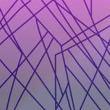 Líneas exóticas de lujo WINT EXÓTICO BLOQUES DEL DISEÑO ilustración del vector