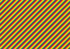 Líneas forma coloridas ilustración del vector