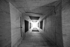 Líneas geométricas en un edificio fotos de archivo libres de regalías