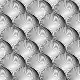 Líneas geométricas modelo de la esfera inconsútil del diseño Imágenes de archivo libres de regalías