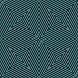 Líneas geométricas modelo inconsútil del vector Negro creativo y textura rayada del trullo stock de ilustración