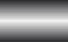 Líneas líneas gruesas y finas del fondo horizontal de la velocidad stock de ilustración