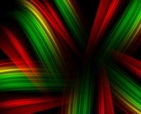 Líneas ligeras coloridas Fotos de archivo