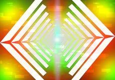 Líneas ligeras de la ciencia Imagen de archivo