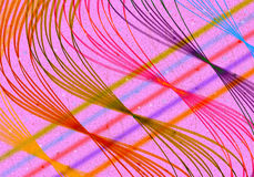 Líneas ligeras extracto Imagen de archivo