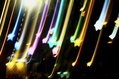 Líneas ligeras, fondos abstractos Foto de archivo libre de regalías