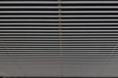 Líneas modeladas del metal Foto de archivo libre de regalías
