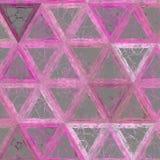 Líneas modelo continuo de los triángulos de Technologic fotografía de archivo