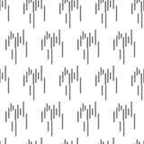 Líneas modelo inconsútil simple geométrico en el fondo blanco Fotografía de archivo