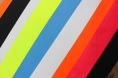 Líneas multicoloras Fotografía de archivo