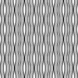 Líneas onduladas fondo inconsútil del extracto del vector Diseño geométrico Diseño elegante redondeado de entrelazamiento de las  ilustración del vector