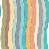 Líneas onduladas modelo inconsútil libre illustration