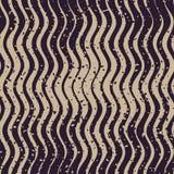 Líneas onduladas modelo retro de Grey Color Hand Drawn Rough de la marina de guerra inconsútil del vector del Grunge Imagen de archivo libre de regalías