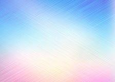 Líneas papel pintado en color del arco iris Foto de archivo libre de regalías