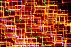 Líneas que brillan intensamente brillantes abstractas como fondo imagen de archivo
