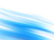 Líneas que fluyen azules Foto de archivo libre de regalías