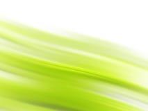 Líneas que fluyen verdes Fotos de archivo