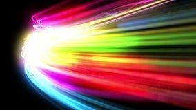 Líneas rápidas en la competencia Como la introducción F1 HD 1080 Loopable almacen de metraje de vídeo