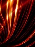 Líneas rojas abstractas stock de ilustración