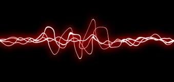 Líneas rojas del fx Fotografía de archivo
