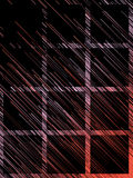 Líneas rojas diagonales fondo abstracto de Digitaces representación 3d Imagen de archivo