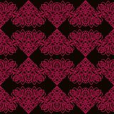 Líneas rosadas modelo en estilo étnico libre illustration