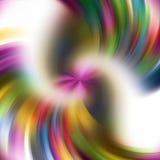 Líneas suaves circulares abstractas en el fondo blanco Fotos de archivo libres de regalías