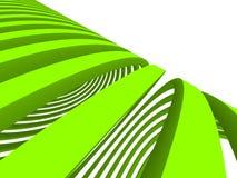 Líneas Verdes abstractas ilustración del vector