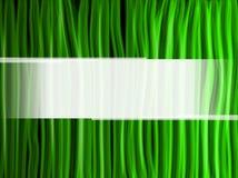 Líneas Verdes abstractas fondo Foto de archivo libre de regalías